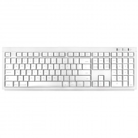 Macally Macintosh BTKey Full Wireless Bluetooth Keyboard (White)