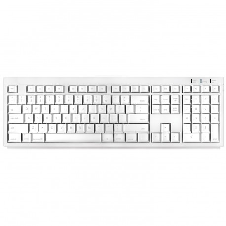 Macally Mac BTKey Wireless Bluetooth Keyboard (White)