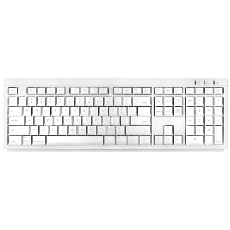 Wireless Bluetooth Keyboard Macally Mac Btkey White