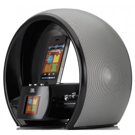 JBL On Air Wireless iPhone/iPod AirPlay Speaker Dock with FM Internet Radio & Dual Alarm Clock