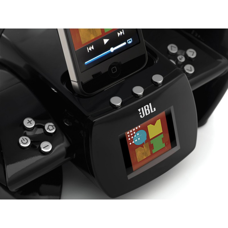 airplay speaker dock with fm internet radio dual alarm jbl on air wireless for iphone ipod. Black Bedroom Furniture Sets. Home Design Ideas