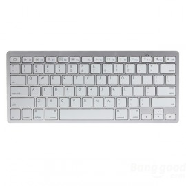 Ultra Thin Mini Wireless Bluetooth Keyboard For iPad iPhone Mac PC