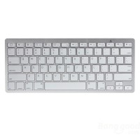 Ultra Thin Mini Wireless Bluetooth Keyboard For iPad iPhone Mac PC
