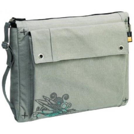 Case Logic Scs-15 15.4-Inch Canvas Laptop Shuttle (Green)
