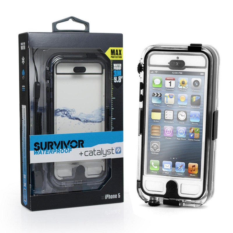 the latest 783d6 87f80 iphone 5 5s waterproof Griffin Survivor Waterproof and Catalyst