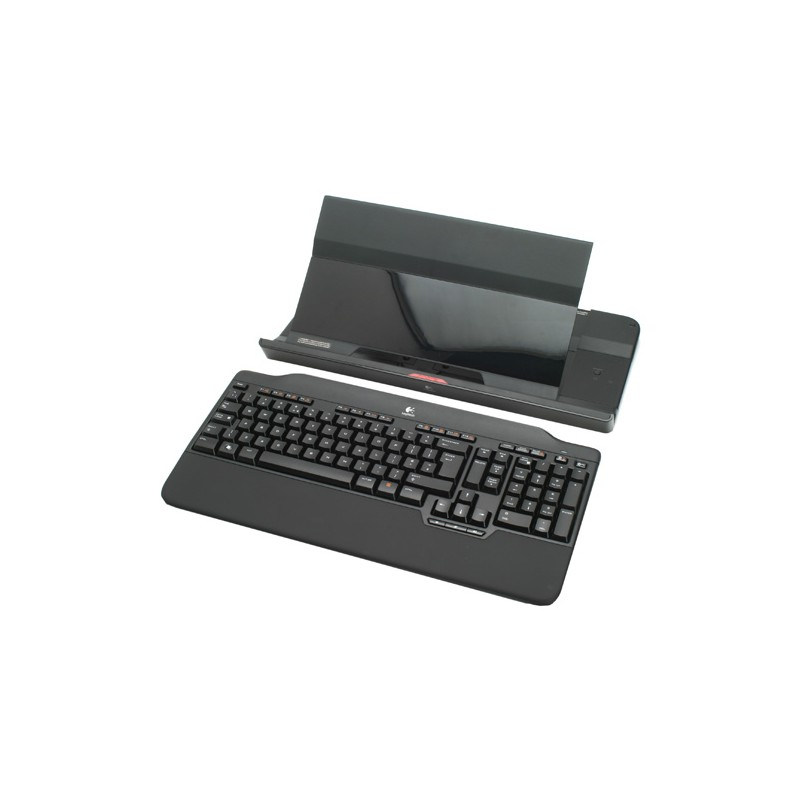 Cordless Notebook Stand Includes Keyboard And Usb Hub