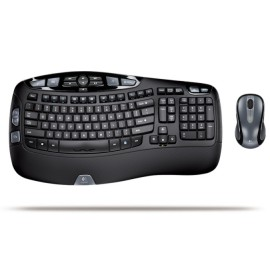 Logitech Cordless Desktop Wave Pro Ergonomic Keyboard and Mouse