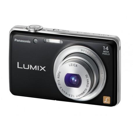 Panasonic Lumix FH6 14.1 MP Digital Camera with 5 Optical Zoom (Black)